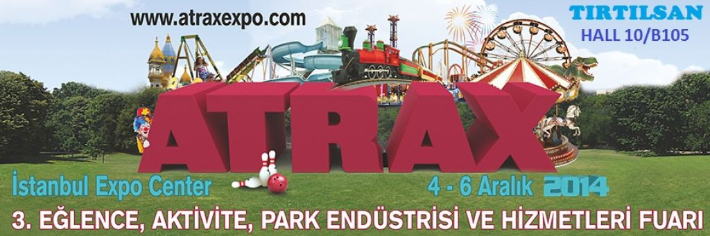 3rd Atrax Amusement,Attraction, Park Industry Exhibition