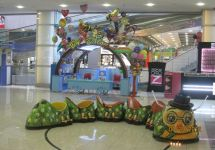 SAND PAINTING & BALLOON STAND